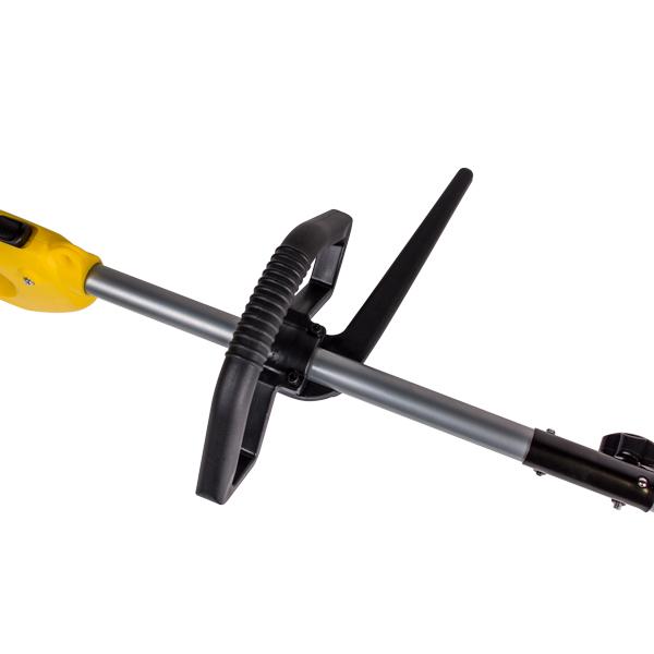 Триммер электрический, 1200Вт.,корд 2*2мм., 400мм.+нож 3*230, Р-ручка, разъемн.,прям.