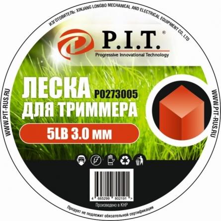 Леска для триммера 5LB, 3,0 мм, квадр. 252м.