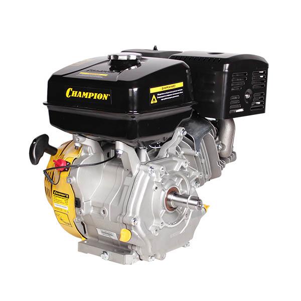 Двигатель бензин., с гор.валом 15л.с.,420 см3, диам. 25 мм. шпонка