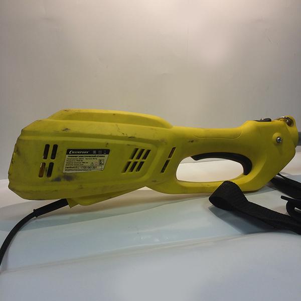 Электрический триммер, 1000 Вт., 8000 об/мин.,корд 2*2 мм., 380 мм., D-ручка., 230В., 50 Гц., разъемн.изогн.