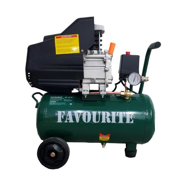 Поршневой компрессор, 220 В/50 Гц, 1,6 кВт, 24 л
