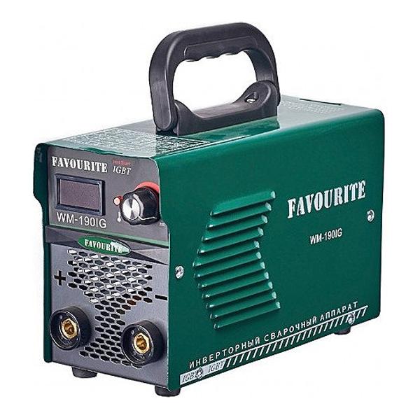 Сварочный инверторный аппарат, 20-190А, 2-4мм, ПВ60%