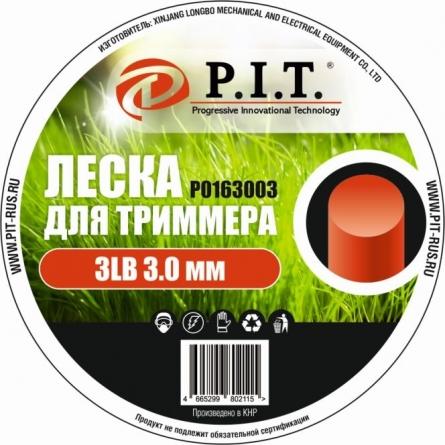 Леска для триммера 3LB, 3,0 мм, кругл. 167,4м.