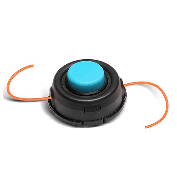 Головка триммерная Хопер, Большая синяя кнопка, М10*1,25, картон-пакет