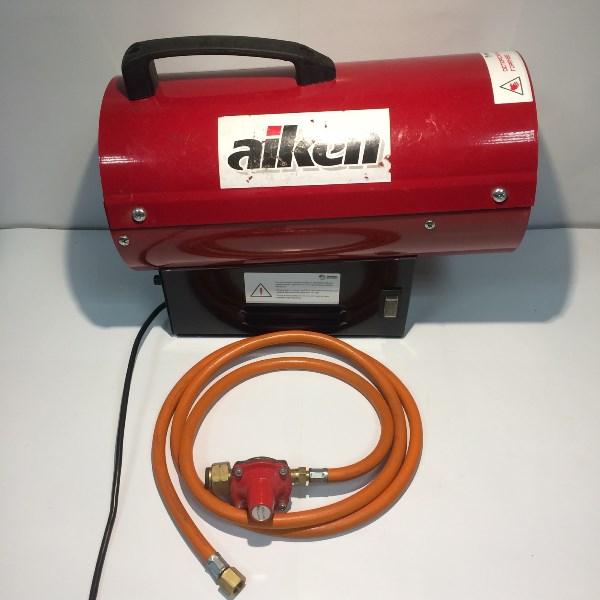 Тепловая пушка газовая прямого нагрева, 220/50 В/Гц, 10 кВт, 300 м.куб/час