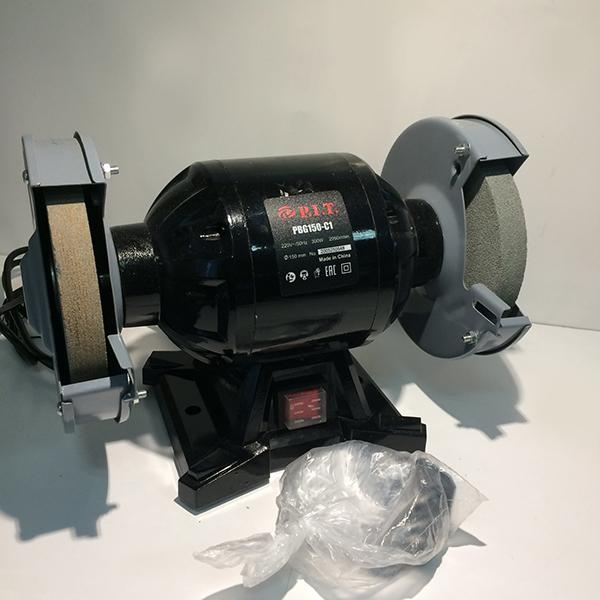 Станок точильный электрический , 220 В., 50 Гц., 150мм., 300Вт., 2950 об/мин.