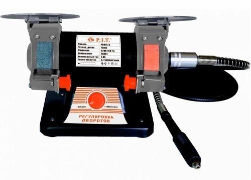 Станок точильный электрический,75*20*10мм, 230 В., 50 Гц., 160Вт., 0-11000 об/мин., гибкий вал