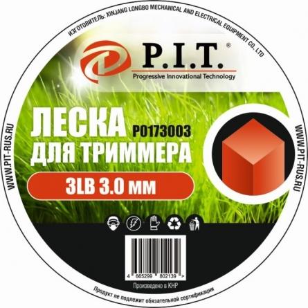 Леска для триммера 3LB, 3,0 мм, квадр.151,2м.
